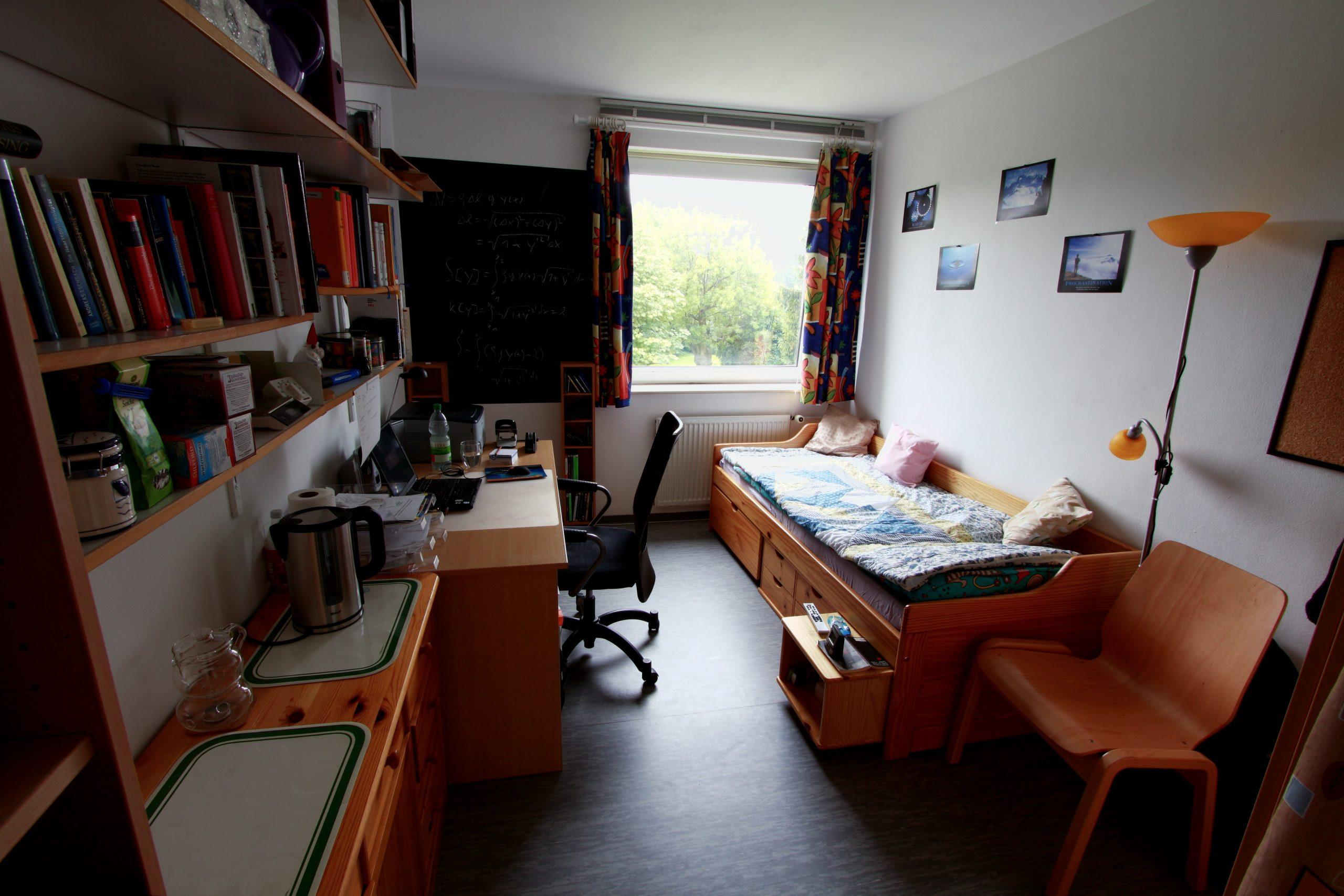 Eingerichtetes Zimmer